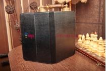 Чехол-обложка для Acer Aspire P3 черный кожаный