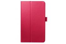 Чехол для Acer One 8 B1-820/821/B1-830 розовый кожаный