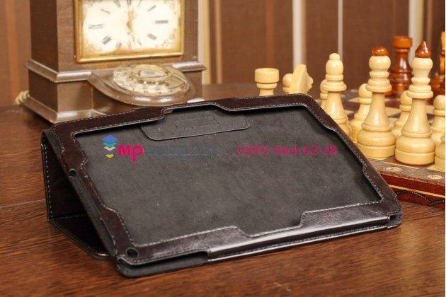 """Фирменный чехол-обложка для Acer Iconia Tab W510/W511 черный кожаный """"Премиум"""""""