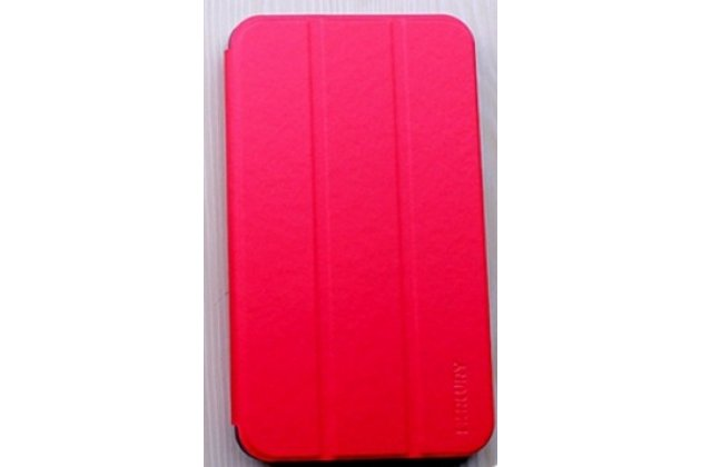 """Фирменный умный тонкий чехол для Acer Iconia Talk 7 B1-723 3G 7.0"""" """"Mercury"""" красный"""