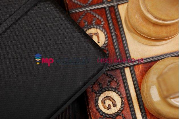 """Фирменный умный тонкий чехол для Acer Aspire Switch 10 (SW5-012) 100% ПОДХОДИТ ДЛЯ SW5-012!!  """"Il Sottile"""" черный пластиковый"""