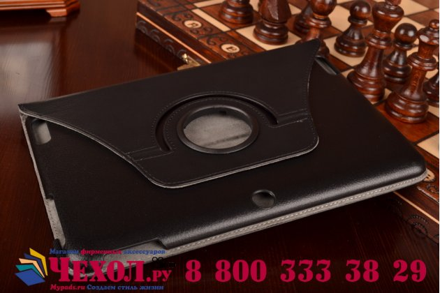 Чехол для планшета Acer Iconia Tab A3-A20/A3-A21 поворотный роторный оборотный черный кожаный