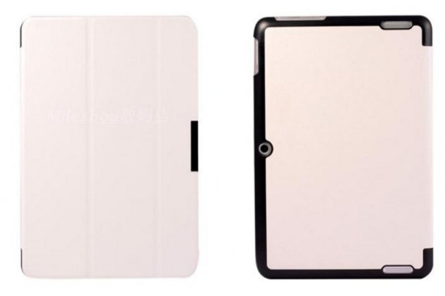 """Фирменный умный тонкий легкий чехол для Acer Iconia Tab A3-A20/A3-A21/A3-A20FHD """"Il Sottile"""" белый пластиковый"""