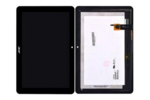 Фирменный LCD-ЖК-сенсорный дисплей-экран-стекло с тачскрином на планшет Acer Iconia Tab A3-A20/A3-A21/A3-A20FHD черный и инструменты для вскрытия + гарантия