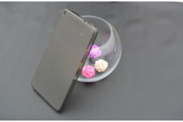 """Фирменная ультра-тонкая полимерная из мягкого качественного силикона задняя панель-чехол-накладка для планшета Acer Iconia Talk S A1-724 (NT.L7ZEE.001 / Q6YQ) 7.0"""" черная"""