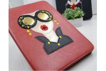 """Фирменный чехол-обложка для iPad 2/3/4 new тематика """"гламур"""" кожаный"""