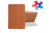 Чехол-обложка для iPad Mini SLIM коричневый кожаный
