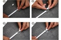 """Замена родного оригинального колпачка с креплением чтобы его не потерять для стилуса Apple Pencil  для iPad Pro 9.7"""" / iPad Pro 12.9"""""""