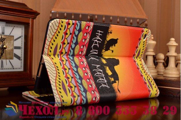 "Фирменный необычный чехол для iPad Mini 4 ""тематика Африка"""