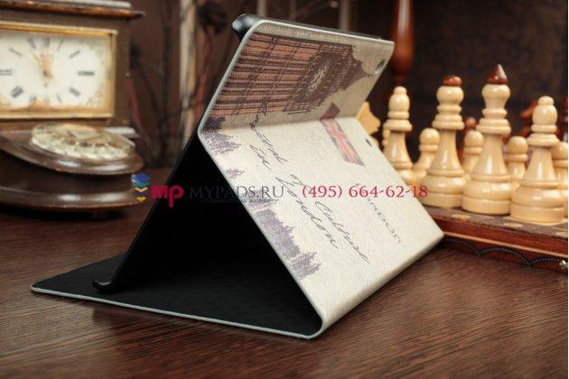 "Уникальный чехол для iPad Air с рисунком ""тематика Биг Бэн Лондон"" кожаный"