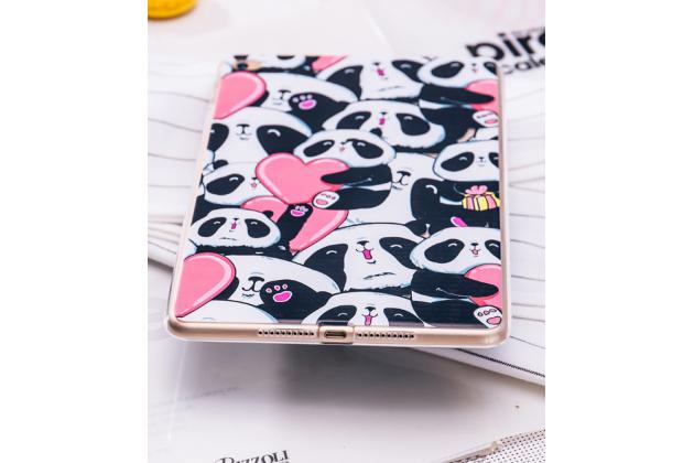 "Чехол для iPad Mini с рисунком ""тематика веселая панда"" силиконовый"