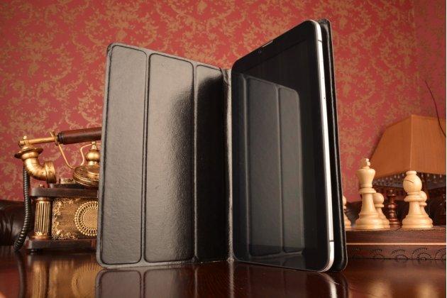 Чехол с вырезом под камеру для планшета Acer Iconia Tab 10 с дизайном Smart Cover ультратонкий и лёгкий. цвет в ассортименте