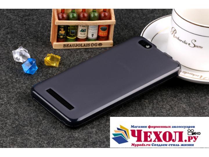 Фирменная ультра-тонкая силиконовая задняя панель-чехол-накладка для Lenovo Vibe C (A2020 / A2020a40 Dual Sim ..