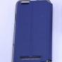 """Фирменный оригинальный чехол-книжка для Lenovo Vibe C (A2020 / A2020a40 Dual Sim /A3910 ) 5.0"""" синий с окошком для входящих вызовов водоотталкивающий"""