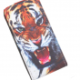"""Фирменный вертикальный откидной чехол-флип для Lenovo Vibe C (A2020 / A2020a40 Dual Sim /A3910 ) 5.0""""  """"тематика Тигр"""""""