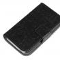 """Фирменный уникальный необычный чехол-книжка для OPPO Neo 5 / 5S"""" """"тематика Pretty Girl"""" черный"""