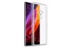"""Фирменная из качественного силикона задняя панель-чехол-накладка для Xiaomi MI MIX 6.4"""" прозрачная"""