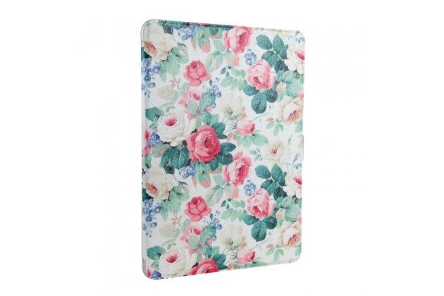 Фирменный необычный чехол для iPad Air 2 тематика Винтажные розы