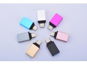 Фирменный оригинальный USB-переходник / OTG-кабель для телефона Meizu M5S + гарантия
