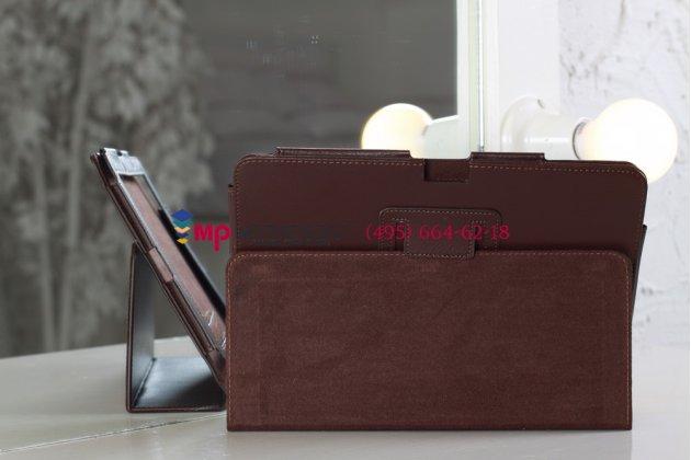 Чехол-обложка для Acer Iconia Tab A700/A701 коричневый кожаный