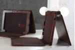 Фирменный чехол для Asus Transformer Pad TF300TG/TF300TL коричневый с отделением под клавиатуру кожаный